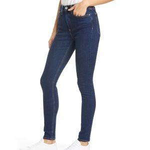 Rag & bone jeans size 25 skinny high waist